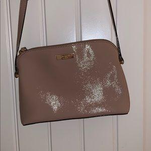 Kate spade nude over shoulder bag (authentic)